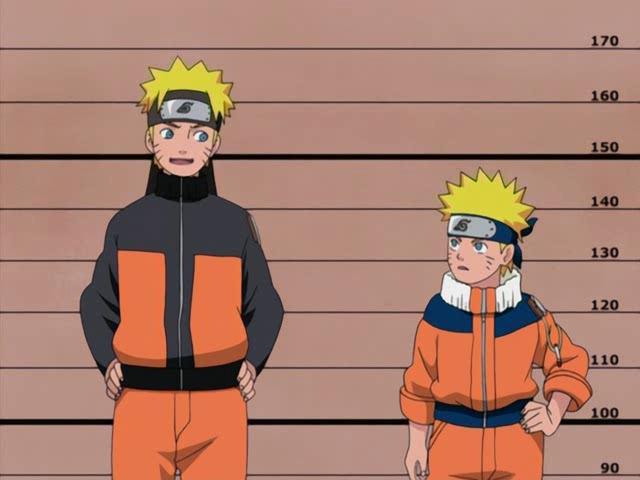 Naruto grande e piccolo!