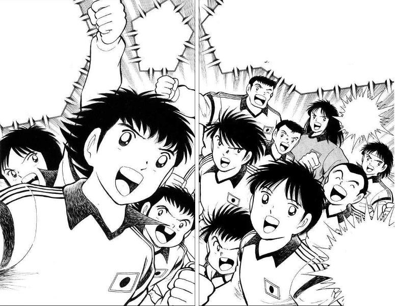 Manga Capitan Tsubasa Holly Benji World Youth Special Di