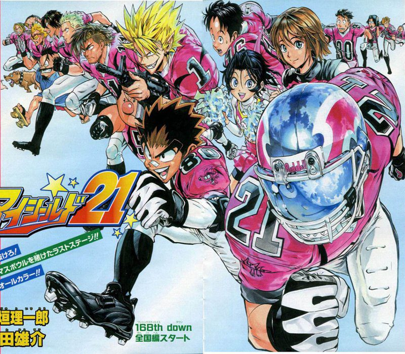 Manga Online Eyeshield 21: Di Riichiro Inagaki E Yusuke Murata