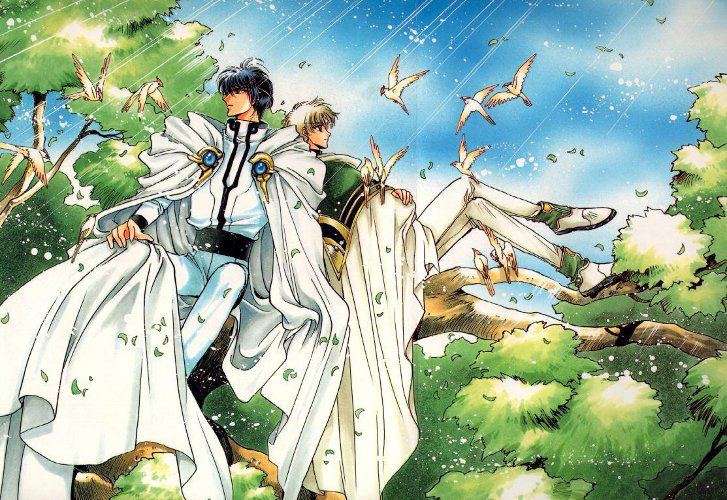 Manga magic knight rayearth 2 una porta socchiusa ai - Una porta socchiusa ai confini del sole streaming ...