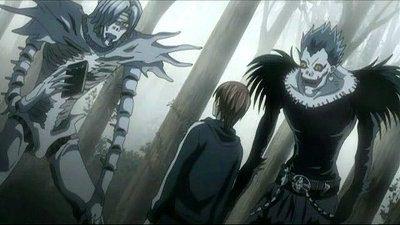 Shinigami forma mostruosa da Death Note